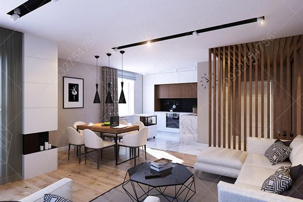 thiết kế căn hộ chung cư 30m2