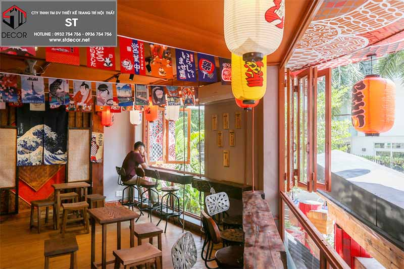 ý tưởng thiết kế quán cafe kiểu nhật