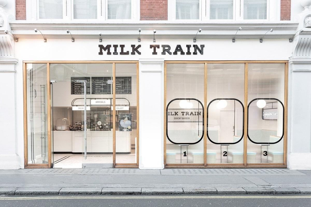 trang trí quán trà sữa nhỏ