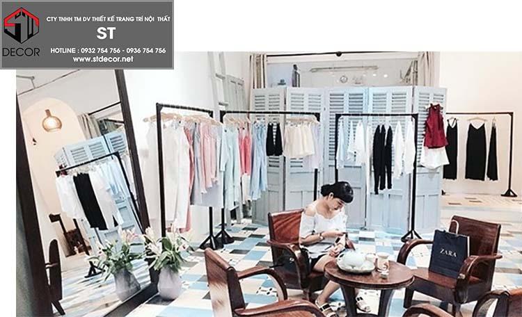thiết kế shop quần áo online