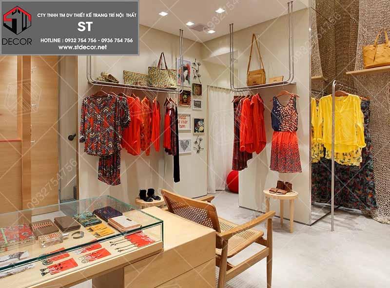 thiết kế shop thời trang nữ đẹp