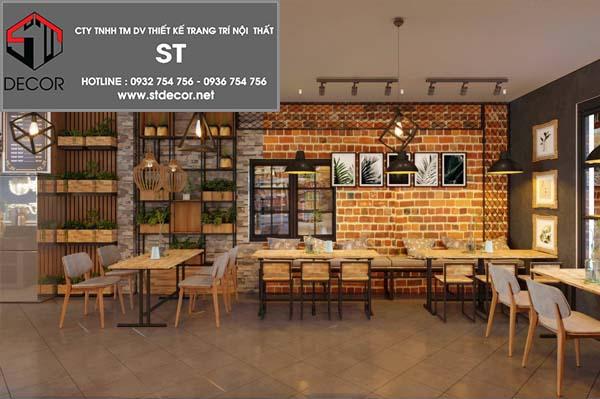 tiêu chuẩn thiết kế nội thất quán cafe
