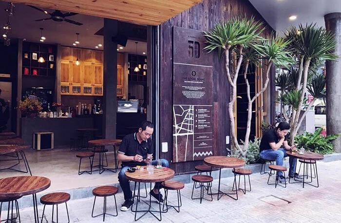 trang trí quán cafe phong cách nghỉ ngơi