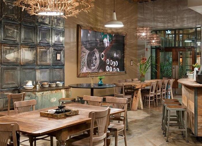 trang trí cafe quán ăn nhanh