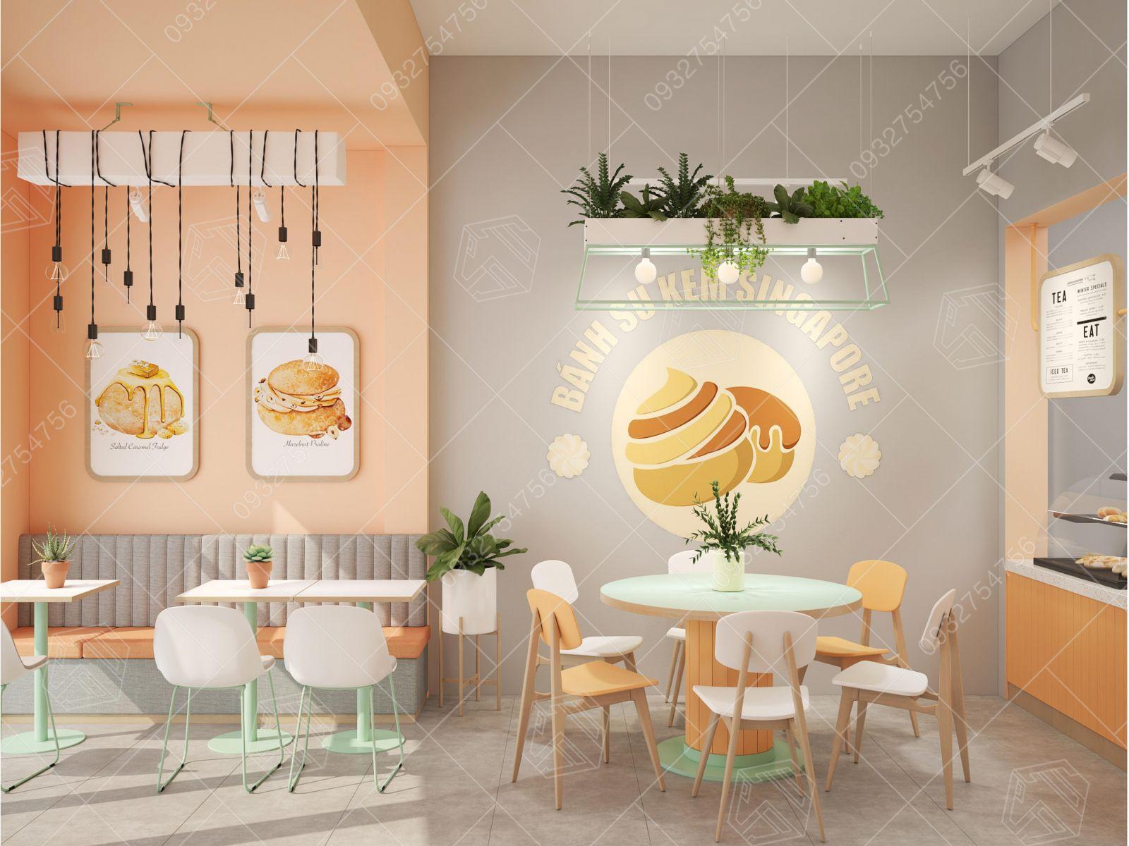 Thiết kế tiệm bánh tại Tp Hồ Chí Minh