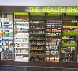 THIẾT KẾ THE HEALTH SHOP